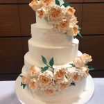 Orange Luxury Wedding Cakes Hertfordshire, Bedfordshire, Buckinghamshire, London