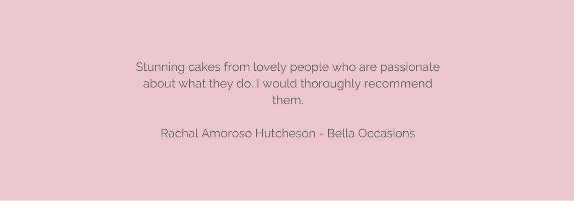 La Belle Cake Company testimonials