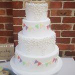 Bunting Luxury Wedding Cakes Hertfordshire, Bedfordshire, Buckinghamshire, London