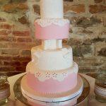 Pink Luxury Wedding Cakes Hertfordshire, Bedfordshire, Buckinghamshire, London