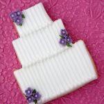 Wedding Cake Wedding Cookies by La Belle Cake Company - Bedfordshire, Hertfordshire