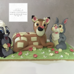 Deer sculpted birthday cakes Hertfordshire, London, Bedfordshire, Buckinghamshire