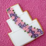 Flowers Wedding Cookies by La Belle Cake Company - Bedfordshire, Hertfordshire