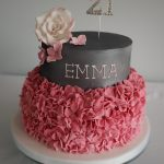 Ruffles Female Birthday Cakes Bedfordshire, Hertfordshire, London and Buckinghamshire