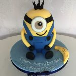 Minion sculpted birthday cakes Hertfordshire, London, Bedfordshire, Buckinghamshire
