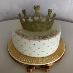 Crown Female Birthday Cakes Bedfordshire, Hertfordshire, London and Buckinghamshire