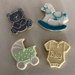 Baby Wedding Cookies by La Belle Cake Company - Bedfordshire, Hertfordshire