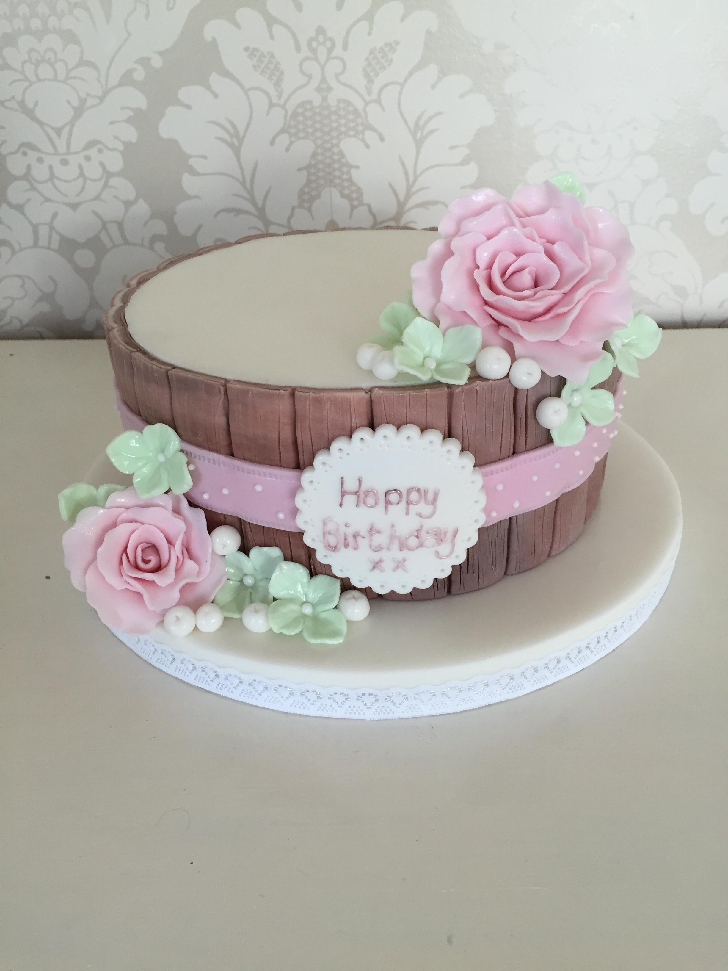 Female Birthday Cakes Hertfordshire Bedfordshire London