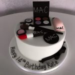 Makeup Female Birthday Cakes Bedfordshire, Hertfordshire, London and Buckinghamshire
