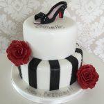 Shoe Female Birthday Cakes Bedfordshire, Hertfordshire, London and Buckinghamshire