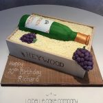 Wine sculpted birthday cakes Hertfordshire, London, Bedfordshire, Buckinghamshire