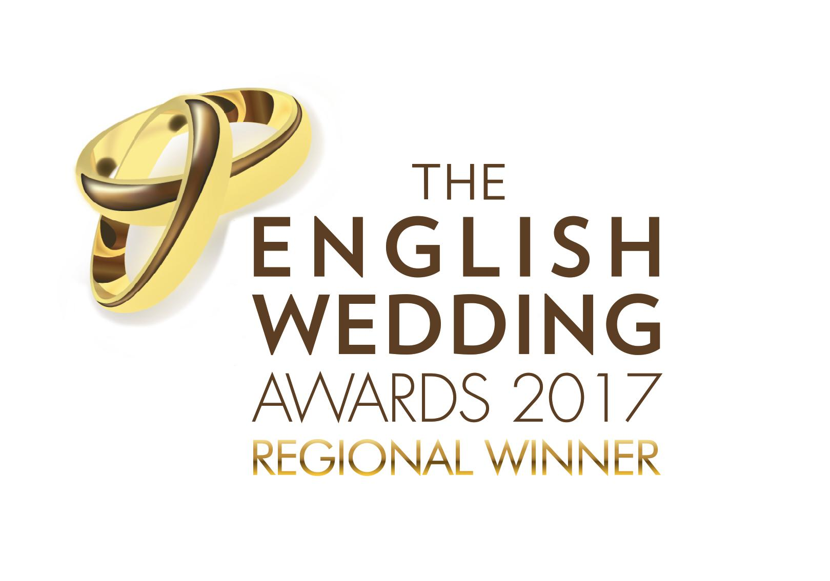 The English Wedding Awards – Regional Winner's Logo