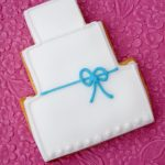 Bow Wedding Cookies by La Belle Cake Company - Bedfordshire, Hertfordshire