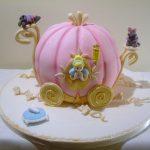 Pumpkin sculpted birthday cakes Hertfordshire, London, Bedfordshire, Buckinghamshire