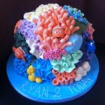 Nemo sculpted birthday cakes Hertfordshire, London, Bedfordshire, Buckinghamshire