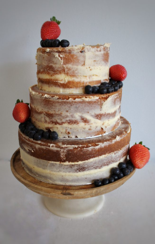 How to make the perfect semi naked cake
