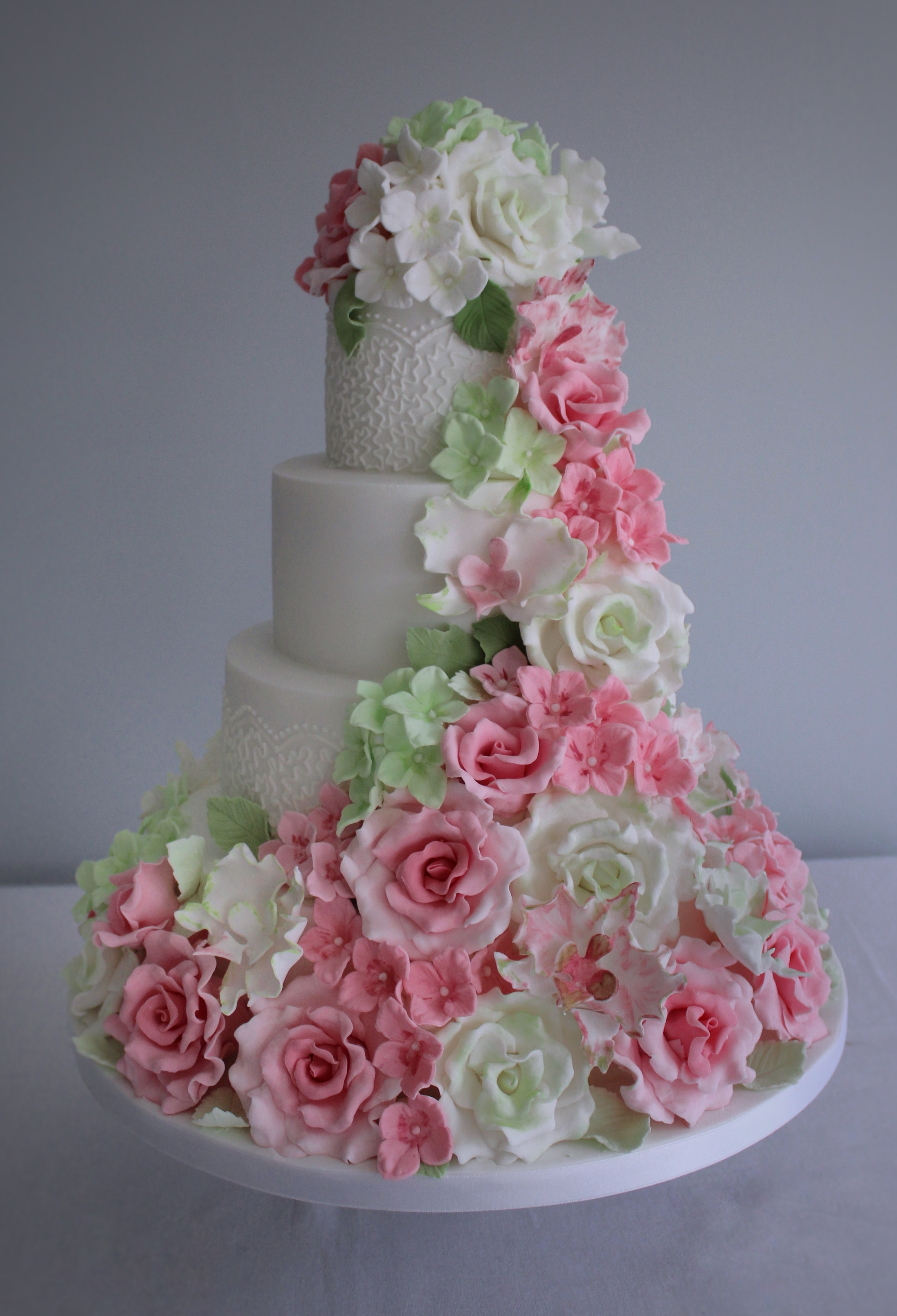 Keep The Tiers Plain Or Add Some Piped Detailing In Same Colour As Icing To Bring A Little Extra Design And Texture Cake