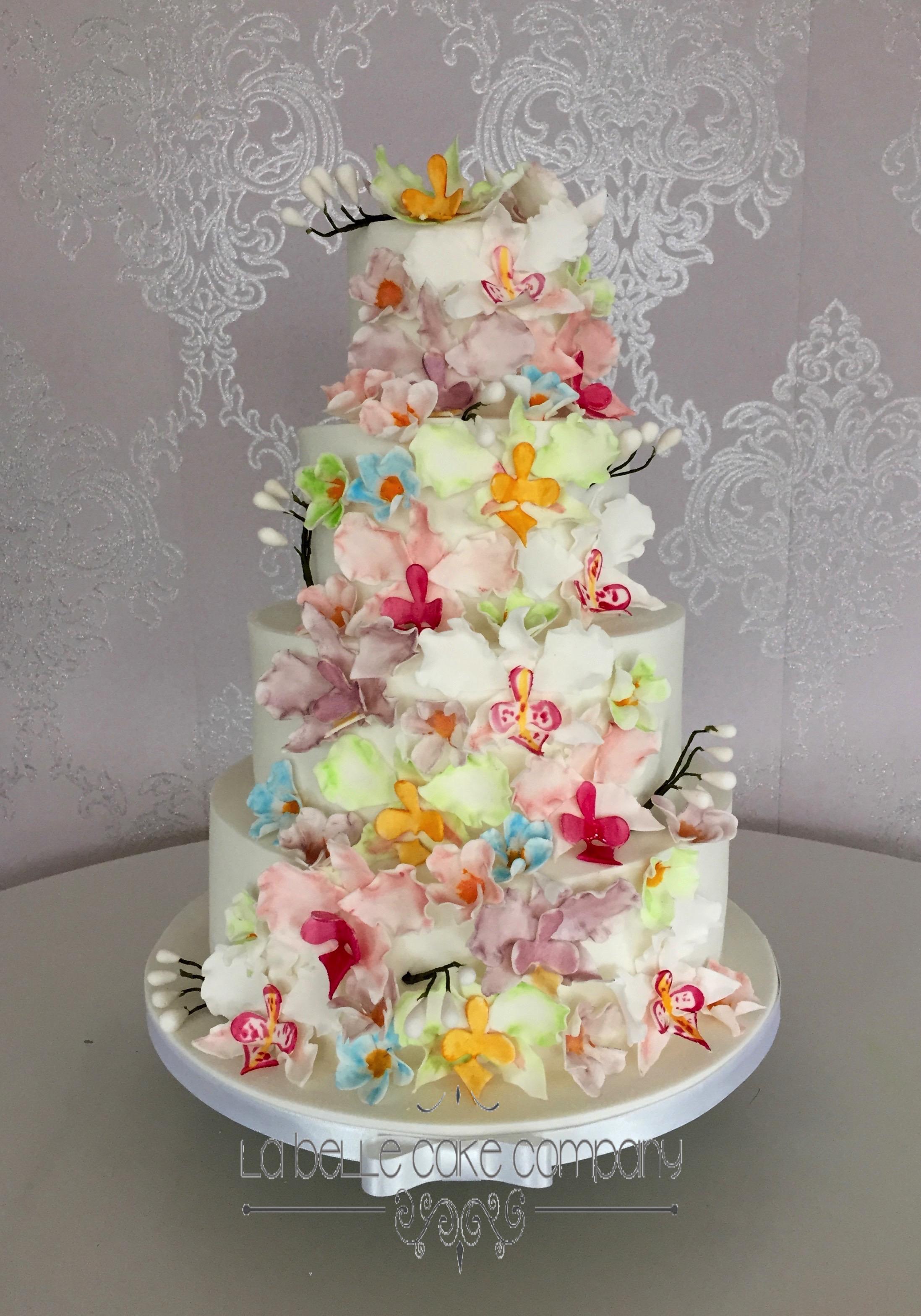 Wedding Cake Ideas.Summer Wedding Cake Ideas From La Belle Cake Co
