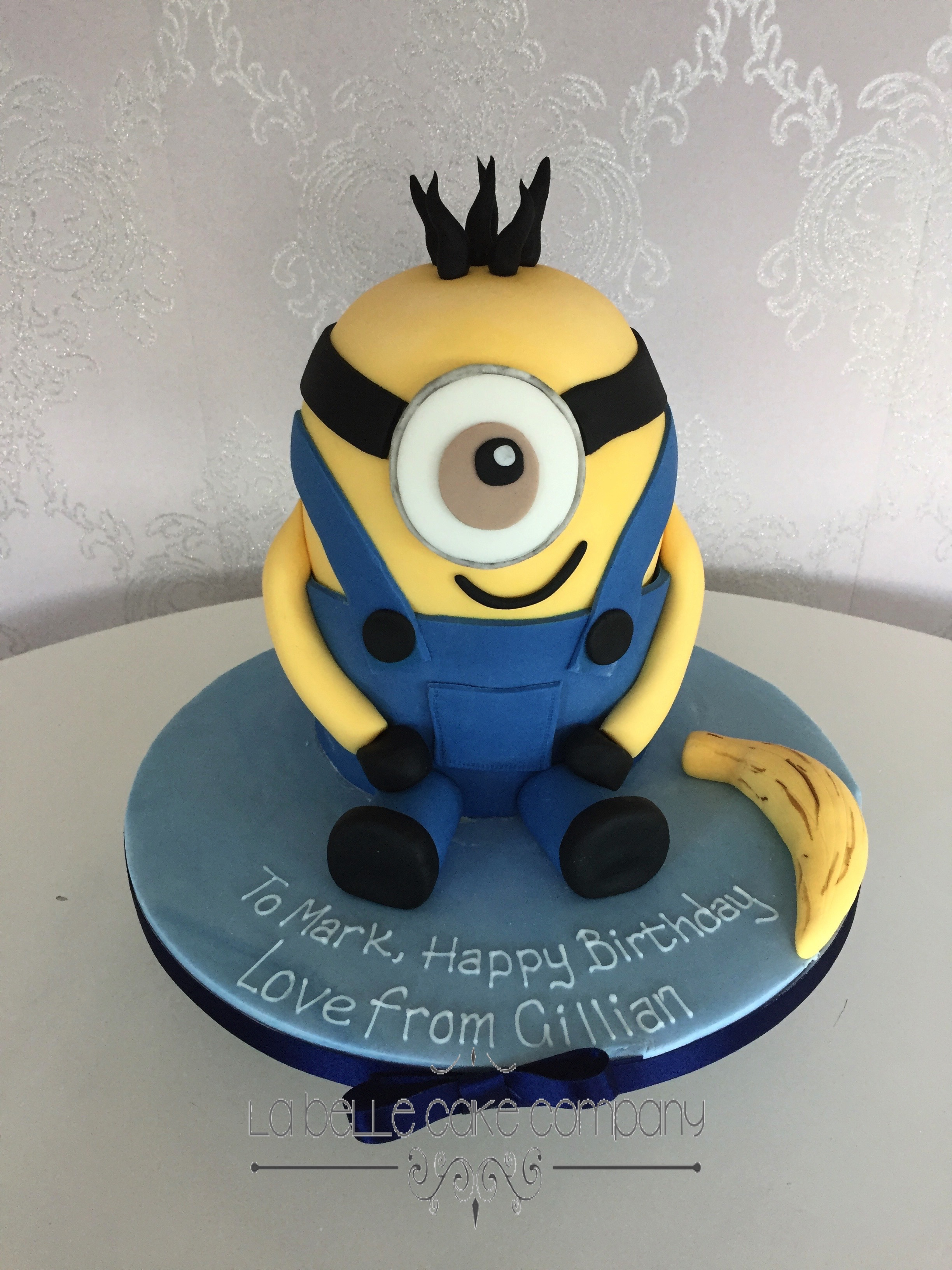 3D Minion Despicable Me Gru Sculpted Birthday Cakes Hertfordshire London Bedfordshire Buckinghamshire