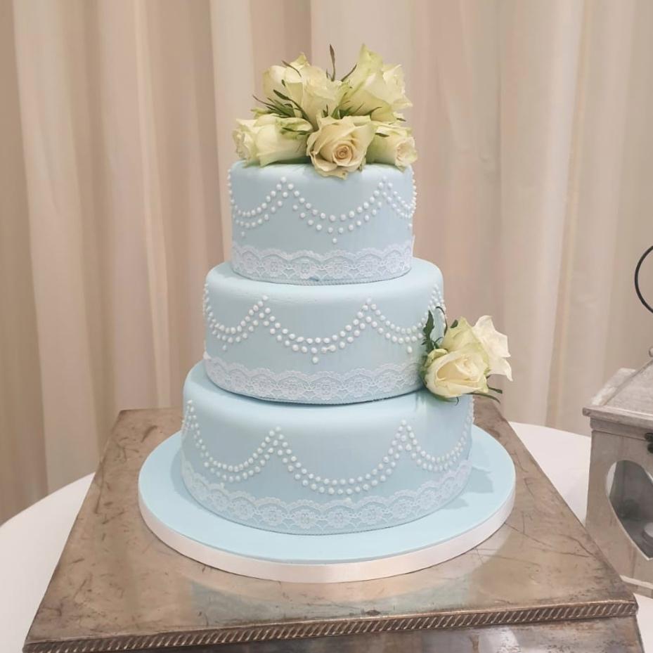 Blue Wedding Cake Ideas: Blue Wedding Cake Inspiration